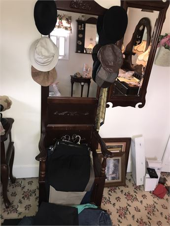 Hats, Ties and Men's Slacks (including jeans) Hall Tree NOT included