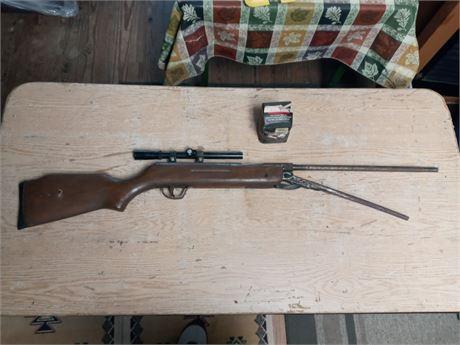 Older bb/pellet gun with some bb's