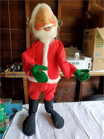 "1966 Annalee 30"" Santa"