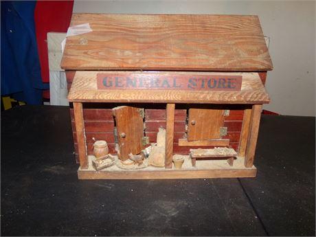 Vintage Miniature General Store