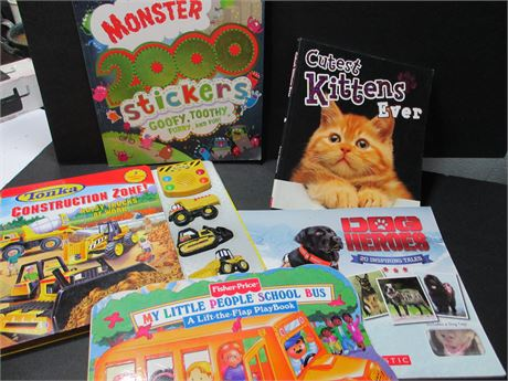 Vintage 5 Piece Children's Book lot