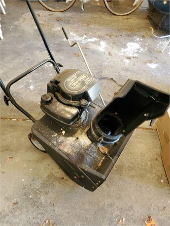 Craftsman 3.8 HP Snow Thrower