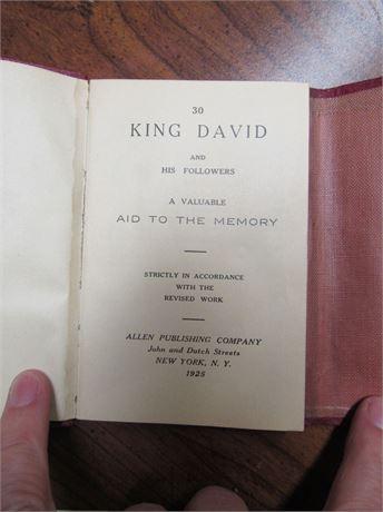 Masonic King David & His Followers Book