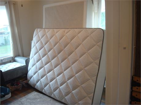 Full-Size Bed - Mattress, Box Springs, Frame