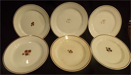 Royal Stone China plates