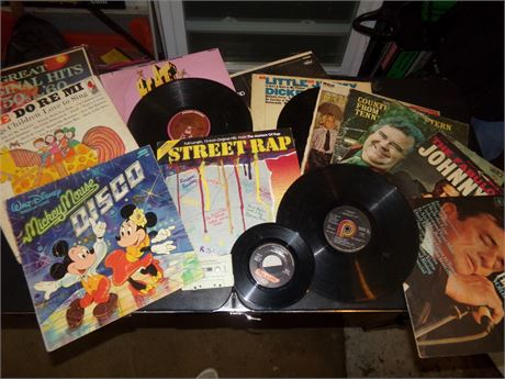 Variety of Records in a variety of Genre'