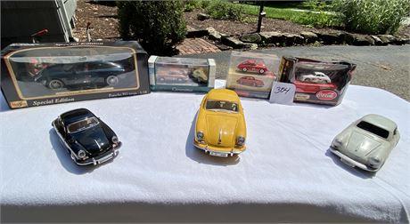 Diecast Model Porsche Cars & Coca Cola Matchbox Car