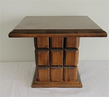 MCM Square End Table #2