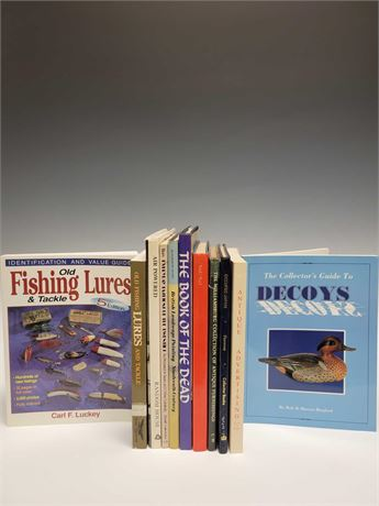 BOOKS Antique Advertising, Egyptians, Air Brushing and More