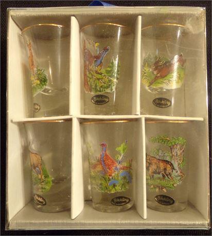 Bockling Set of 6 shot glasses