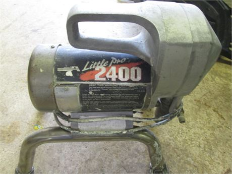 Deluxe Compact Graco Little PRo 2400 Paint Sprayer