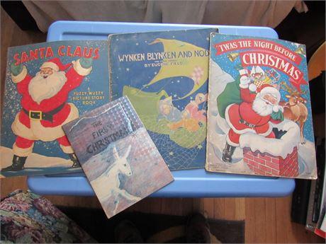 Vintage Christmas Kid's Books