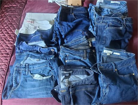 Ladies Jeans (VGS, SAVAGE ART, NICKI MINAJ, ETC.) 10 PAIRS SIZE 10