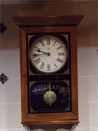 Battery operated Elgin Regulator Clock