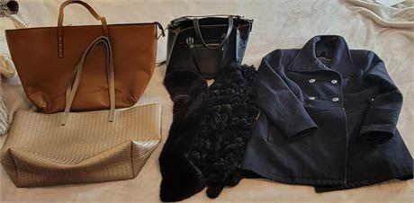 Women's Handbags, Scarves & Coat