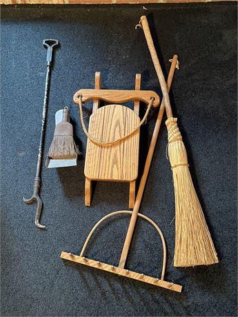 Hearth Decor and Tools