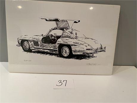 Walt Herip Corvette Hand Signed, Limited Edition
