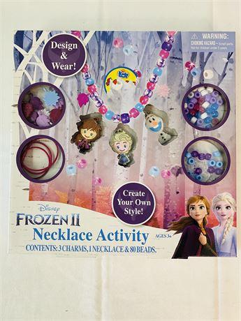 Disney Frozen II Necklace Activity Set