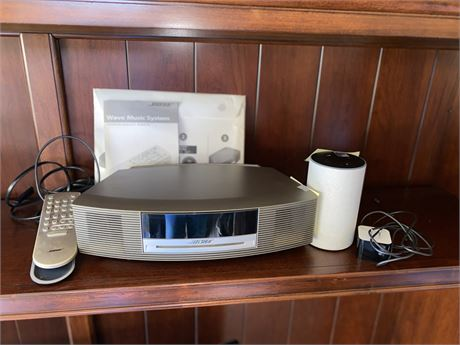 Bose Wave Music System and Amazon Echo