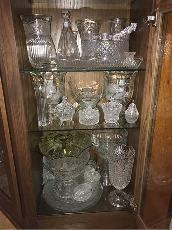 3 Shelves from Crystal Cabinet