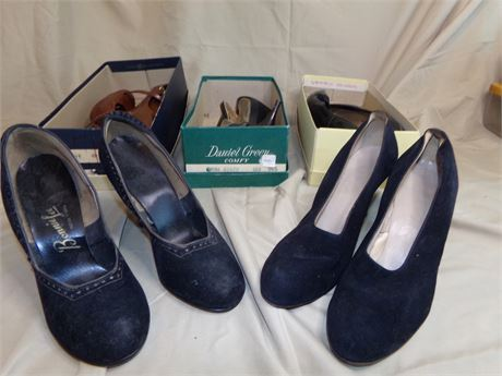 5 pairs of Shoes size 6 1/2- 7 1/2