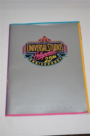 Universal Studios HOLLYWOOD 25th Anniversary Souvenir Book