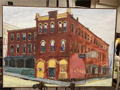 Framed Oil on Canvas by Bette Drake - Local Artist