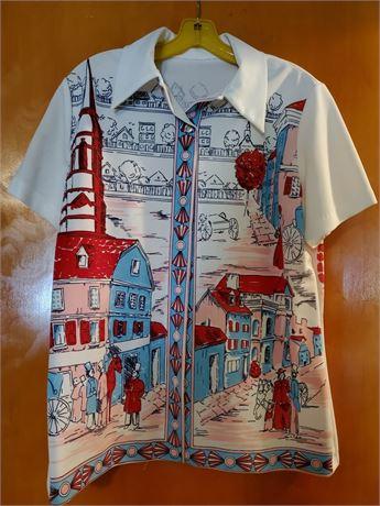 Vintage Women's Poly Shirt