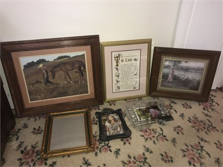 Wall Art and Frames Lot