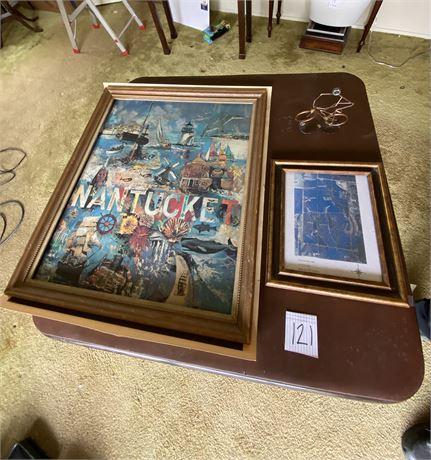 Three Piece Miscellaneous Art Lot