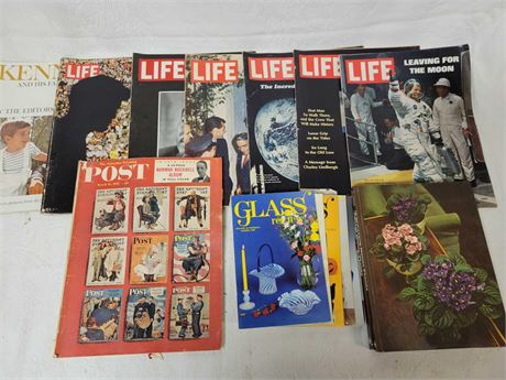 Life Magazine Monumental Moments and Reference Books