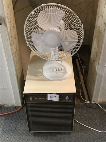 Amana Dehumidifier and Fan