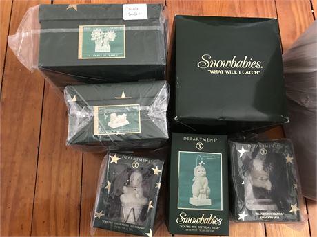 Snowbabies New in Original Box (6)