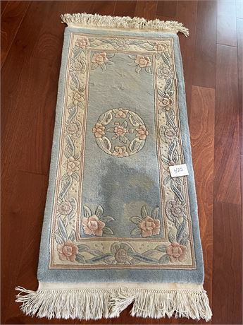 Wool Chinese Rug - Needs Cleaned
