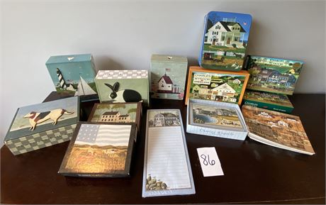 Charles Wysocki and Warren Kimble Note Cards Lot