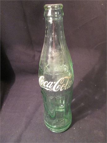 Vintage 6 1/2 Oz Coca Cola Dallas Texas Bottle