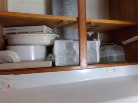 Microwave Cookware, Ice Trays, Strainer