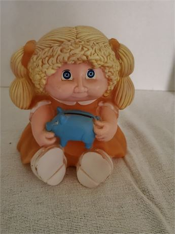 Vintage Cabbage Patch Doll Bank