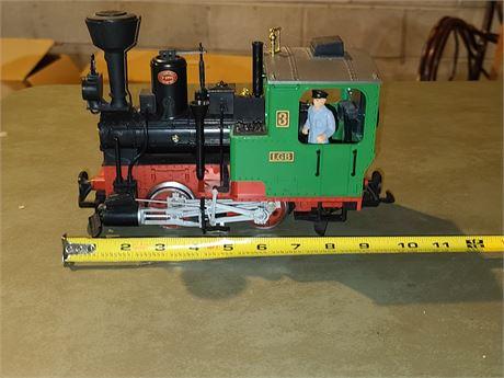 LGB Green Stainz Steam Locomotive #3