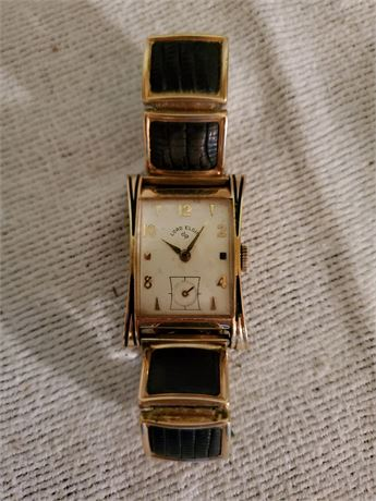 Antique Lord Elgin Men's Watch Gold Filled