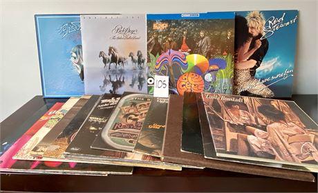 Vintage Vinyl Large Lot Including Eagles Greatest Hits