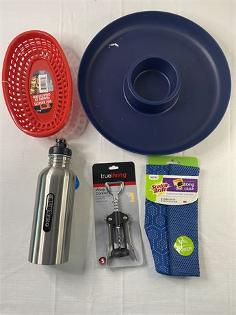 Lot of 5 misc. new kitchen items.