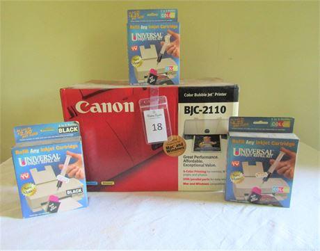 Canon Color Bubble Jet Printer