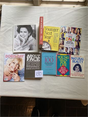 Ageless Beauty Reading Materials Lot - Including Author Signed Book