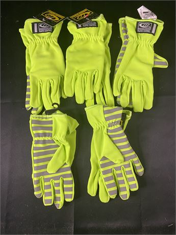 Lot of 5 pairs of safety gloves. XXsmall