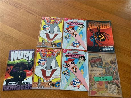More Vintage Comics