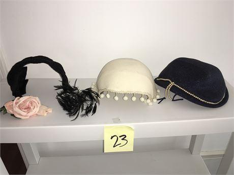 Ladies Vintage Fascinator Hats