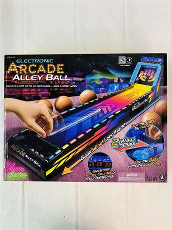 Electronic Arcade Alley Ball. 1 or 2 Player.