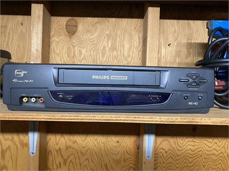 Philips Magnavox VCR