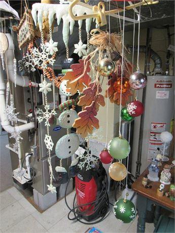 Holiday Wind Chimes/Door Decor